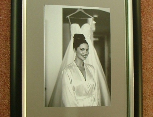 Portrait Mounted Within A Mirror Surround