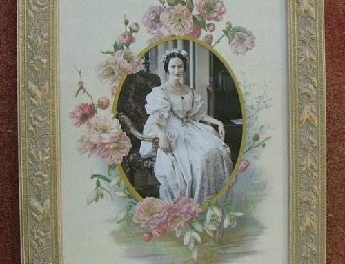 Authentic Victorian Floral Surround